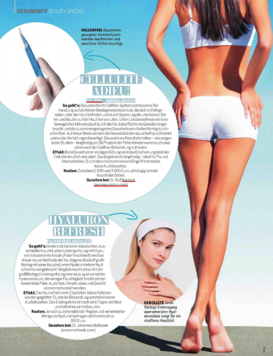 Madonna | Die neusten Anti-Cellulite Treatments