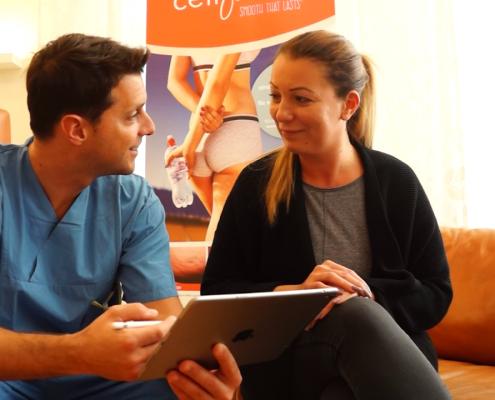 Cellfina Cellulite Beratung Wien Dr. Bartsch